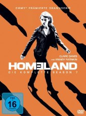 Homeland, 4 DVDs Cover