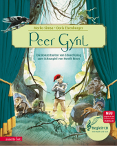 Peer Gynt, m. Audio-CD Cover