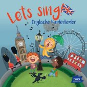 Let's sing! Englische Kinderlieder, 1 Audio-CD Cover