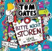 Tom Gates - Bitte nicht stören, Genie bei der Arbeit, 2 Audio-CDs Cover