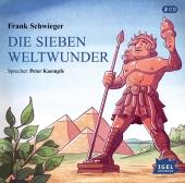 Die sieben Weltwunder, 2 Audio-CDs Cover