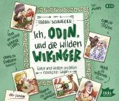 Ich, Odin, und die wilden Wikinger, 4 Audio-CDs Cover