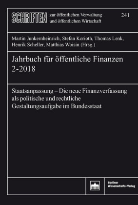 Jahrbuch für öffentliche Finanzen 2-2018