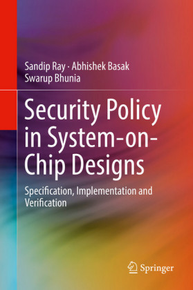 Security Policy in System-on-Chip Designs