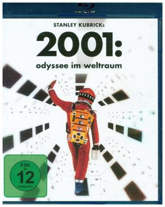 2001: Odyssee im Weltraum: 50th Anniversary Edition, 1 Blu-ray