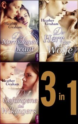 Die Normannenbraut - Die Gefangene des Wikingers - Der Herr der Wölfe