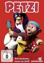 Petzi - Drei Ratten bauen ein Schiff, 1 DVD Cover