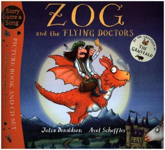 Zog and the Flying Doctors, w. Audio-CD