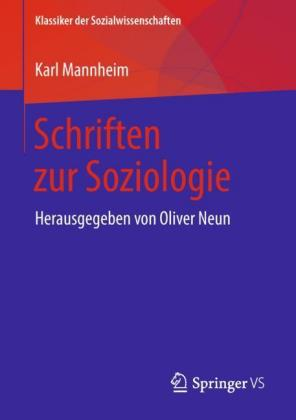 Schriften zur Soziologie