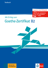 Mit Erfolg zum Goethe-Zertifikat B2 - Testbuch Cover