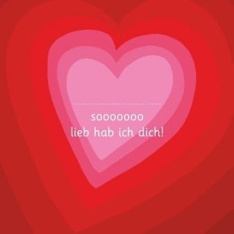 Sooooooo lieb hab ich dich! - Illustriert von Adrienne Barman