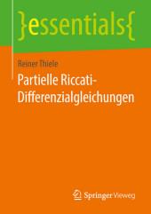 Partielle Riccati-Differenzialgleichungen