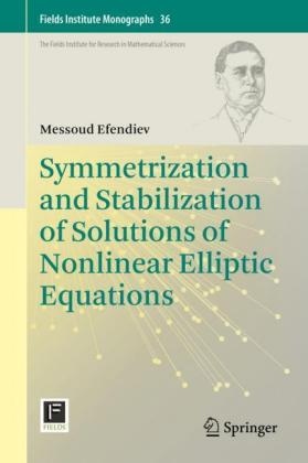 Symmetrization and Stabilization of Solutions of Nonlinear Elliptic Equations