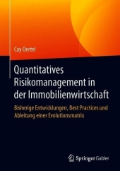 Quantitatives Risikomanagement in der Immobilienwirtschaft