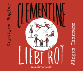 Clementine liebt Rot, 3 Audio-CDs Cover