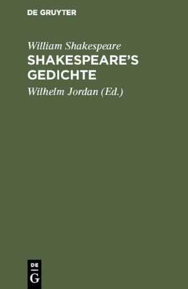 Shakespeare's Gedichte