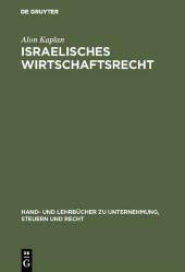 Israelisches Wirtschaftsrecht