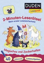 Duden Leseprofi - 2-Minuten-Leserätsel: Mein erster Lesewortschatz Cover