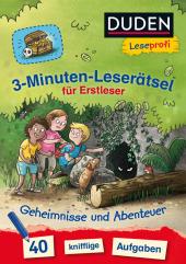 3-Minuten-Leserätsel für Erstleser - Geheimnisse und Abenteuer Cover