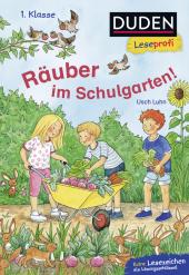 Räuber im Schulgarten Cover