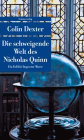Die schweigende Welt des Nicholas Quinn Cover