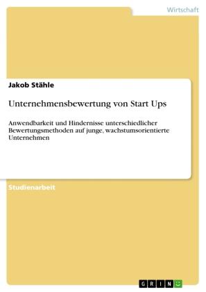 Unternehmensbewertung von Start Ups