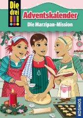 Die drei !!! Adventskalender - Die Marzipan-Mission Cover