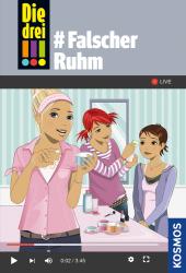 Die drei !!!, #Falscher Ruhm Cover