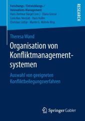Organisation von Konfliktmanagementsystemen