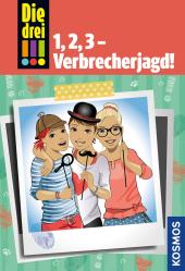Die drei !!!, 1, 2, 3 - Verbrecherjagd! Cover