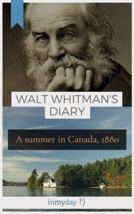 Walt Whitman's Diary
