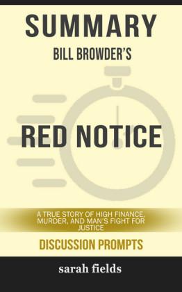 Summary: Bill Browder's Red Notice