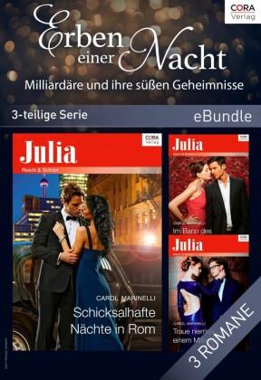 Erben einer Nacht - Milliardäre und ihre süßen Geheimnisse (3-teilige Serie)