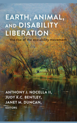 Earth, Animal, and Disability Liberation