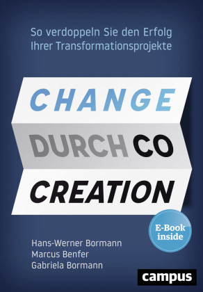 Change durch Co-Creation, m. 1 E-Book