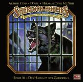 Sherlock Holmes - Das Haus mit den Zwingern, 1 Audio-CD