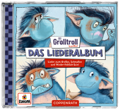 Der Grolltroll - Das Liederalbum, 1 Audio-CD Cover