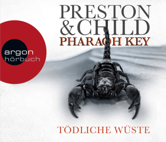 Pharaoh Key - Tödliche Wüste, 6 Audio-CDs
