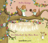 Das kleine Waldhotel - Ein Blütenfest für Mona Maus, 2 Audio-CDs Cover