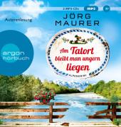 Am Tatort bleibt man ungern liegen, 2 Audio-CDs, MP3 Format Cover