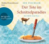 Der Tote im Schnitzelparadies, 6 Audio-CDs Cover