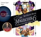 Die Magischen Sechs - Madame Esmeraldas Geheimnis, 4 Audio-CDs
