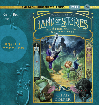 Land of Stories - Das magische Land, 2 MP3-CDs