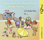 Meine allerersten Kinderlieder für die Ferien, 1 Audio-CD Cover