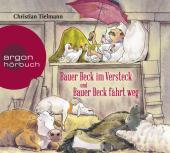 Bauer Beck im Versteck und Bauer Beck fährt weg, 1 Audio-CD Cover