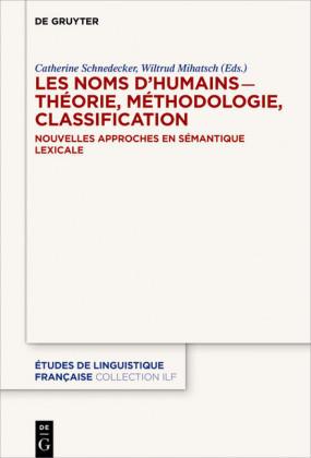 Les noms d'humains ? théorie, méthodologie, classification