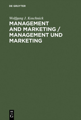 Management and Marketing / Management und Marketing
