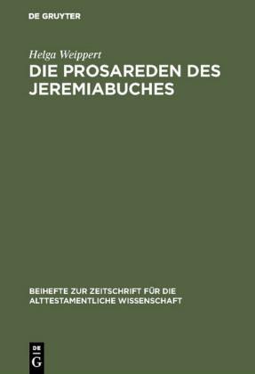 Die Prosareden des Jeremiabuches