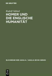 Homer und die englische Humanität