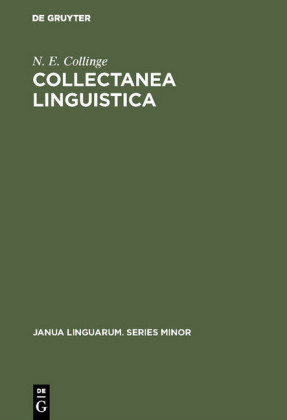 Collectanea Linguistica